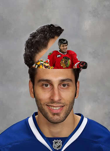 The Ex Panther Factor Roberto Luongo Number 7
